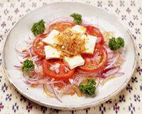 トマトのヘルシーサラダ