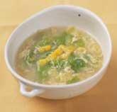 シャキシャキレタスの中華風スープ
