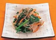 小松菜のシャッキリ炒め