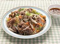牛肉と野菜の重ね蒸し