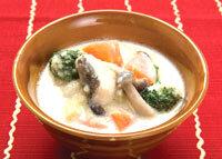 タラと野菜の牛乳煮