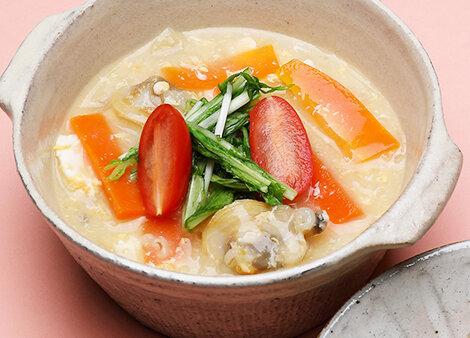 なんちゃって酸辣湯(サンラータン)風スープ