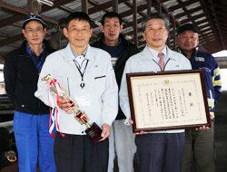 第73回長野県畜産共進会で最高位を獲得 徹底した肥育管理で高評価