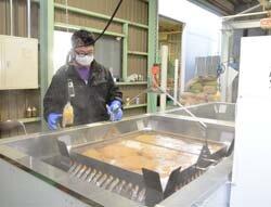 種もみ温湯消毒始まる 健苗を生産者へ