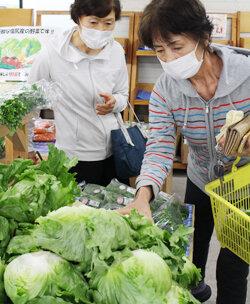 朝採れ野菜がズラリ 「勇気野菜館」が営業スタート